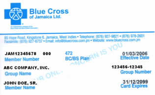 Coverage Termination Date for Members from Blue Cross of Jamaica ...