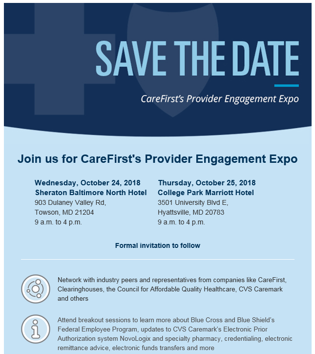 You Are Invited to Our Upcoming Provider Engagement Expo  Don't Wait